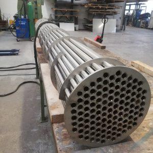Rohrbündel für Abgaswärmetauscher